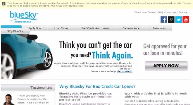 Blueskyautofinance